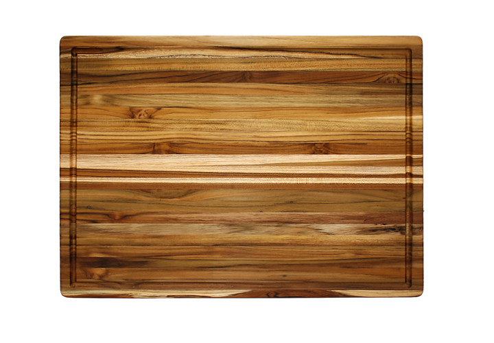 108 Teak Cutting Board with Juice Groove