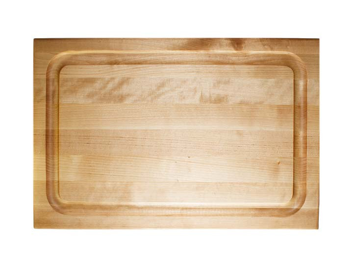 John Boos BBQ 18x12x1.5 Cutting Board Top View