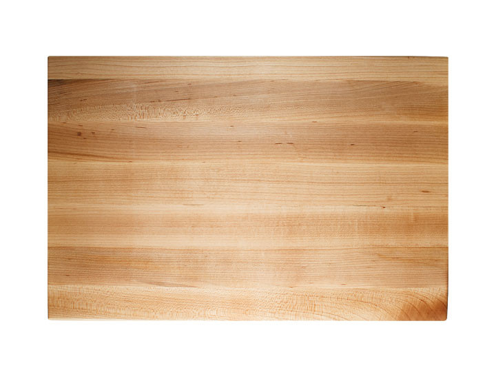John Boos Reversible With Grips Maple 18x12x2.25 Cutting Board Top View