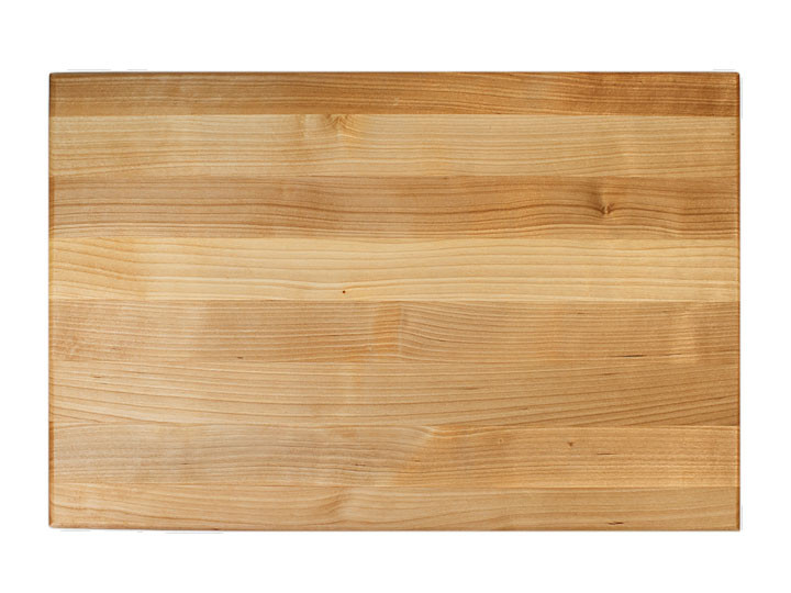 "John Boos Reversible Cutting Board With Grips 20"" x 15"" x 1.5"" Top View"