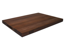 John Boos Reversible Cutting Board With Grips Walnut 24x18x1.5 (WAL-R02) Overview