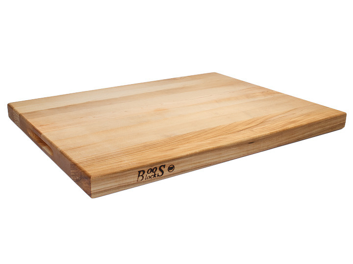 """John Boos Reversible Cutting Board With Grips Maple 24"""" x 18"""" x 1.5"""" Overview"""