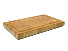 "Larch Wood Carvers Cutting Board 24"" x 15"" x 2"" Overview"