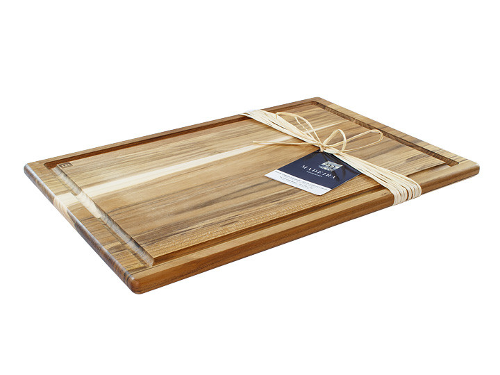 "Madeira Provo Extra Large 20"" x 14"" Teak Carving Board Overview"