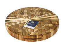 "Madeira Canary Collection XL Round Chop Block - 18"" Round x 2"" Thick"