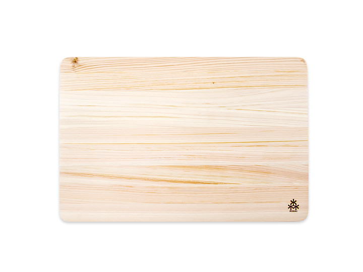 Hinoki japanese cypress cutting board, small