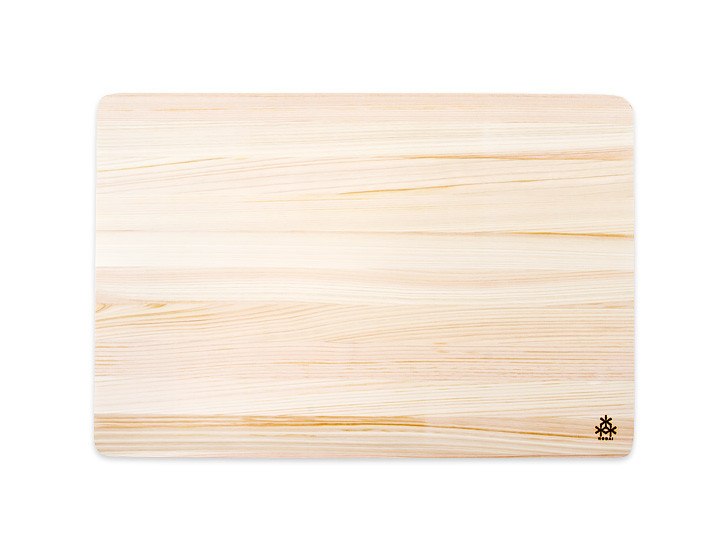 Japanese cypress cutting board, medium