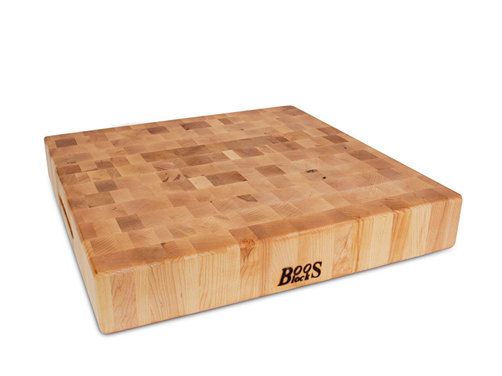 John Boos Maple End Grain Butcher Block 18 X 18 X 3