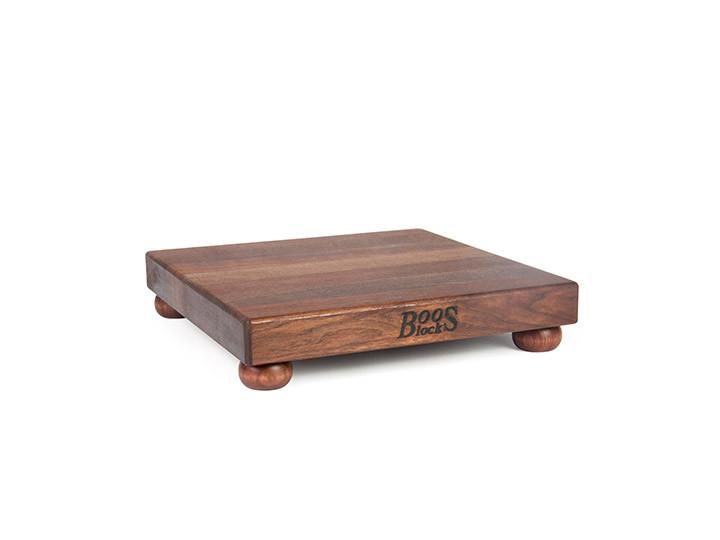 John Boos Walnut WAL-B12S Gift Board 12 x 12 x 1.5