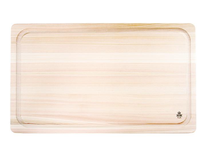 Hinoki Grooved Cutting Board Large 20 x 12 x 1
