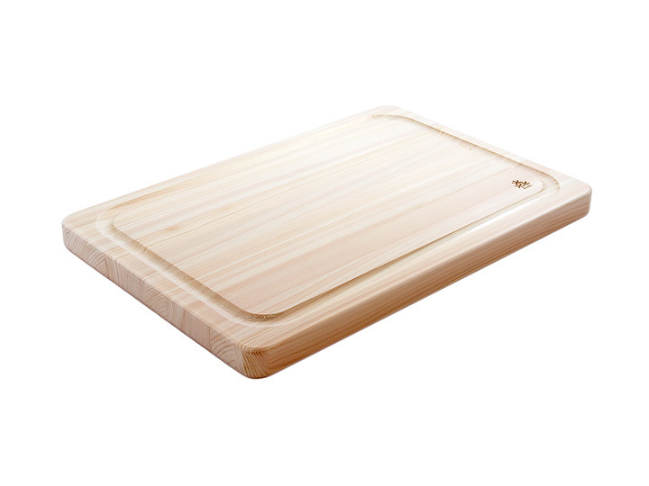 Hinoki Grooved cutting board medium