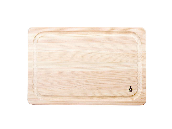 Cypress cutting board from Japan