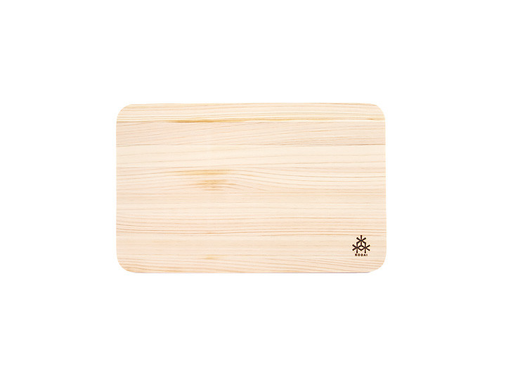 Sushi board made from hinoki wood