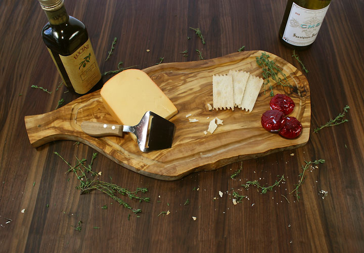 Olive cheese serving tray