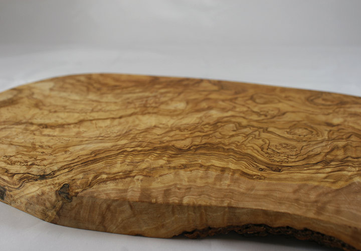 Olive Wood Grain Closeup