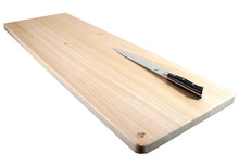 Extra large hinoki cutting board