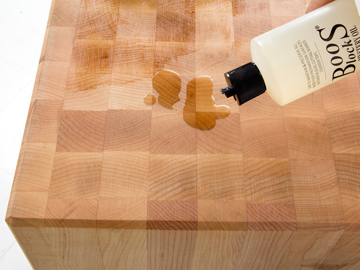 John Boos Butcher Block Oil treatment