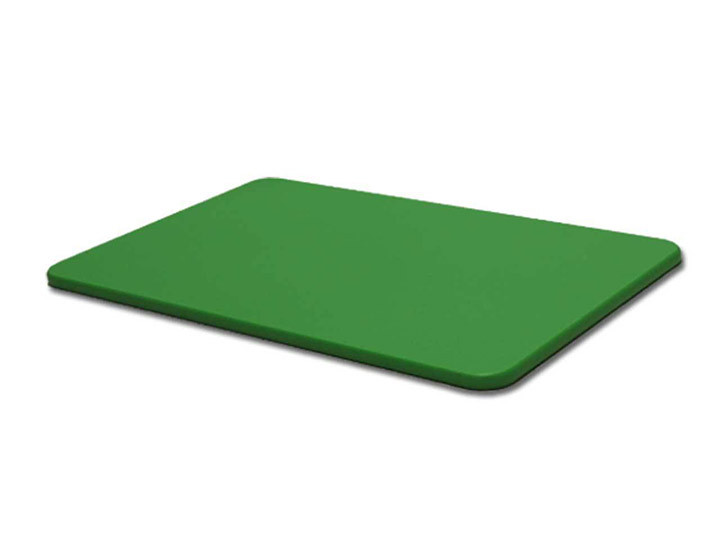 Hdpe Plastic Cutting Board Green