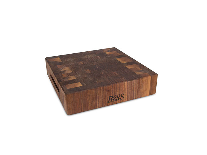 John Boos Walnut 12x12 Butcher Block End Grain