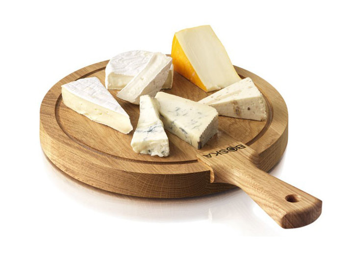 Boska Round Cheese Board Medium with Display Cheese