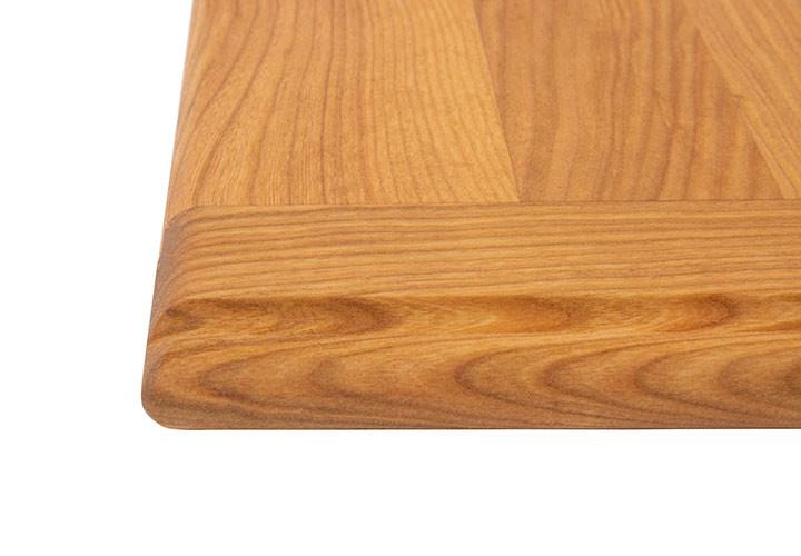 Straight Grain with Bullnose Edge and Bread Board