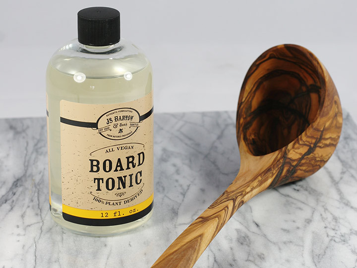 Naturally oil wood utensils