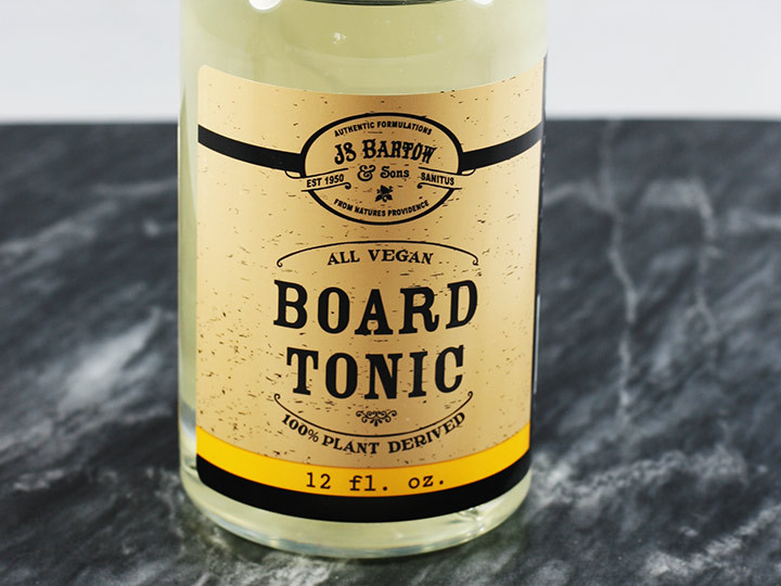 100% Vegan Board Oil