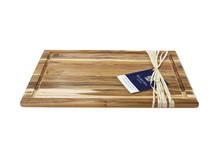 Madeira Large Teak Carving Board Side