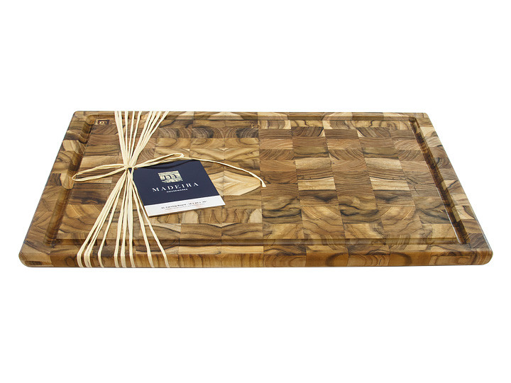 Madeira 1031 End Grain Teak Carving Board