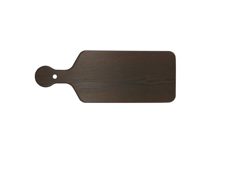 Charred ash wood paddleboard