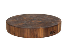 John Boos Walnut Round Butcher Block 18""