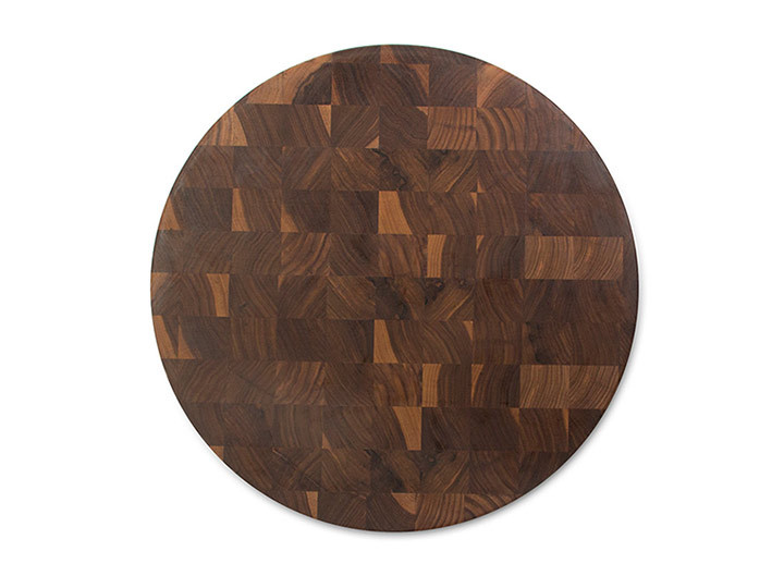 John Boos End Grain Round Walnut Chopping Block
