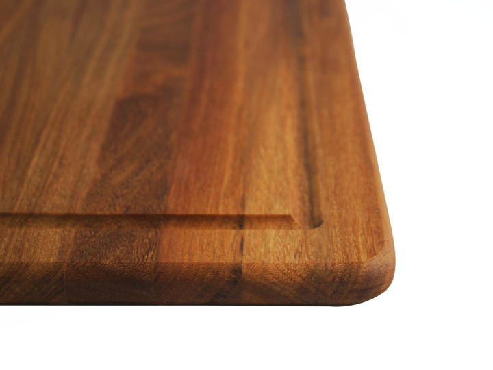 Teak grain close up