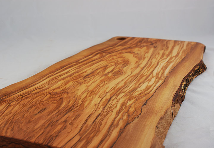 Charming Olive Wood Serving Tray
