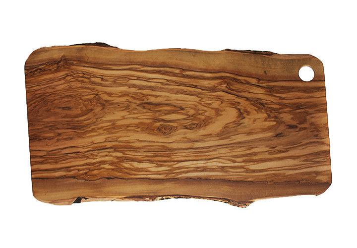 Italian olive wood grain