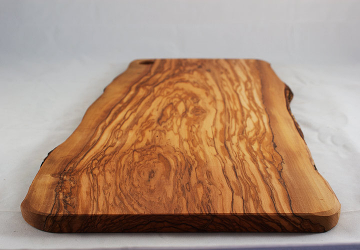 Large Wood Cutting Board Part - 27: Italian Olive Wood Slab