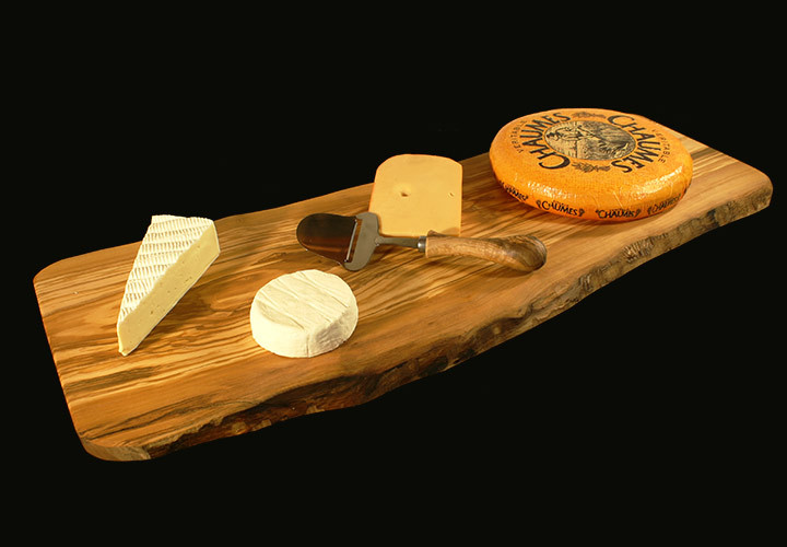 Cheese serving board slab