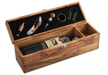 Olive Wood Wine Box