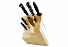 Artelegno Pisa Square Magnetic Knife Block