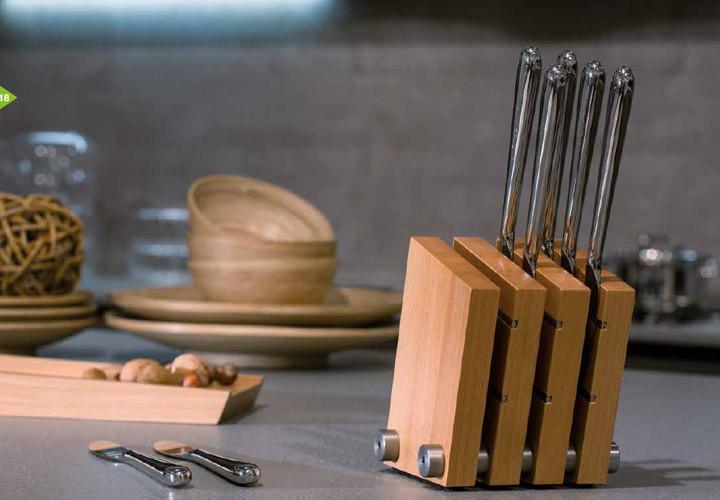Artelegno Milano Knife Block