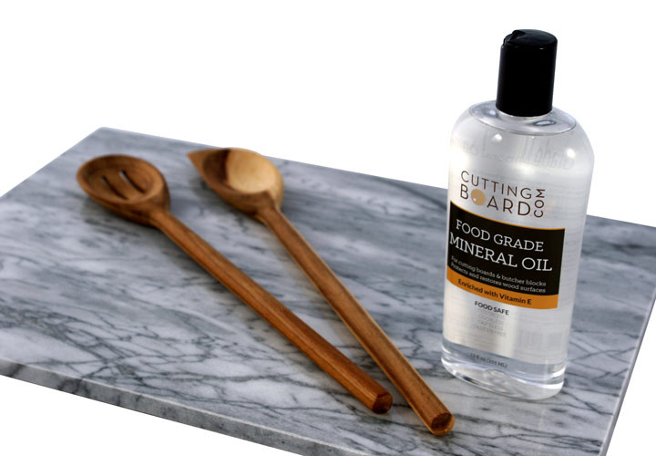 Mineral Oil with Wood Utensils
