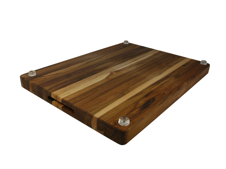 Large cutting board feet
