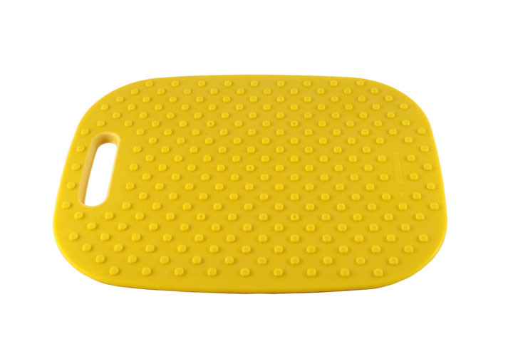 Architec Medium Yellow Cutting Board Back Side