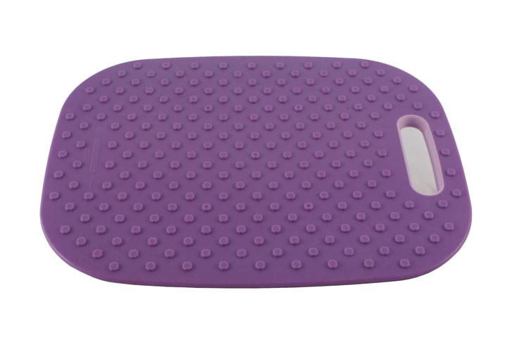 Architec Medium Purple Cutting Board Back Side