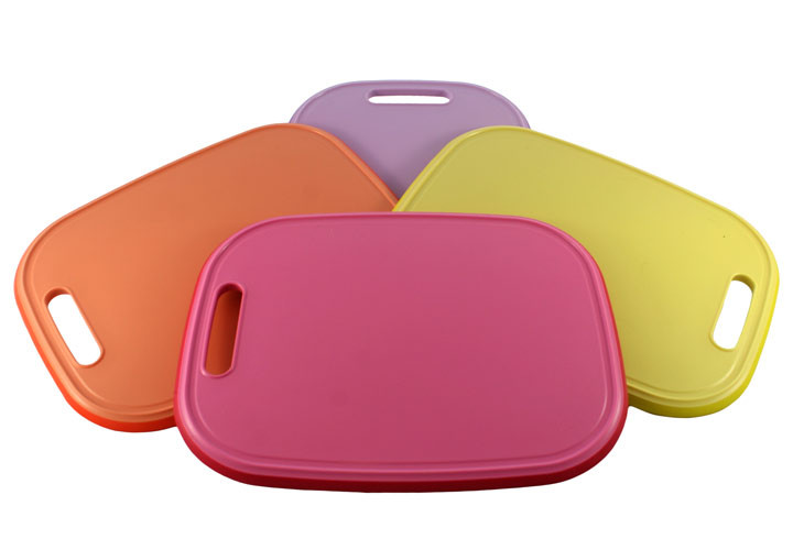 Medium Cutting Board Colors Rubber Non-Skid Gripper Plus