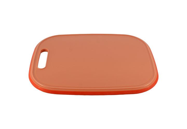 Architec Medium Orange Cutting Board Cutting Side