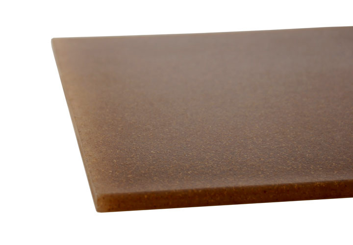 Architec brown ecosmart poly flax board 16 x 12 x 0 5 for Architec cutting board