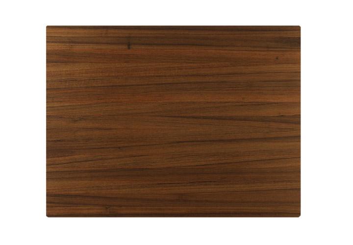 Custom teak pullout board