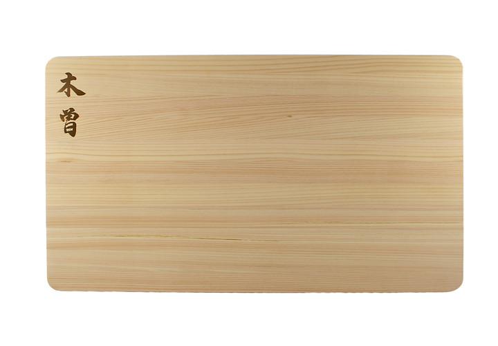 Kiso japanese cypress cutting board 20 x 12