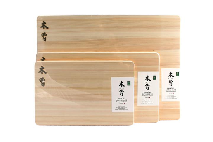 Comparison of Kiso cutting boards